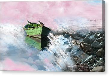 Canvas Print featuring the photograph Pareja by Alfonso Garcia