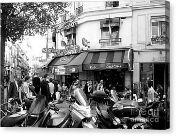 Paris Corner Canvas Print by Tanya  Searcy