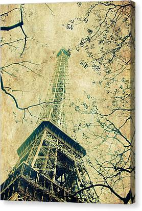 Paris Eiffel Canvas Print by Antonietta Pics