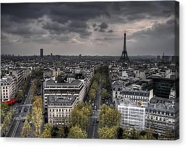 Paris No. 1 Canvas Print by Ryan Wyckoff