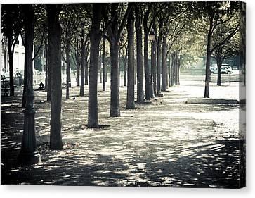 Paris Park Canvas Print