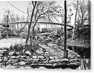 Park Bridge Canvas Print