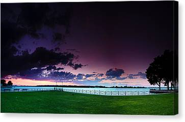 Park Pano Canvas Print by Cale Best