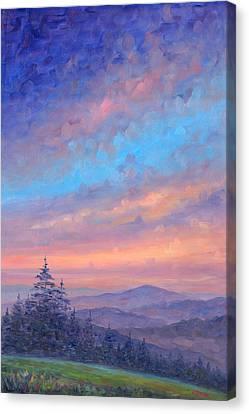North Carolina Canvas Print - Parkway Glow II by Jeff Pittman
