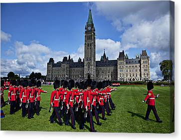 Parliament Building Ottawa Canada  Canvas Print by Garry Gay