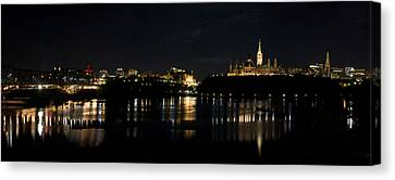Parliament Hill Ottawa Canada Canvas Print