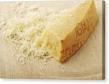 Parmesan Cheese Canvas Print by James And James