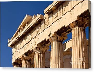 Parthenon Canvas Print by Brian Jannsen