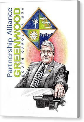 Partnership Alliance Canvas Print by Paul Abrahamsen
