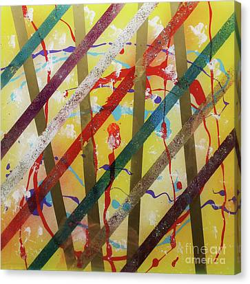 Canvas Print - Party - Stripes 2 by Mordecai Colodner