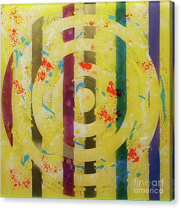 Canvas Print - Party- Bullseye 1 by Mordecai Colodner