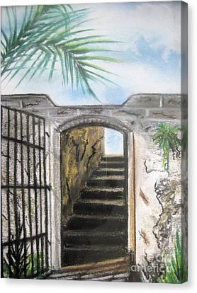Passage Canvas Print by Judy Via-Wolff