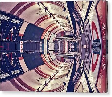Archifou Series Canvas Print - Passage Tubulaire - Archifou 45 by Aimelle