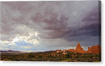 Passing Storm Canvas Print by Adam Pender