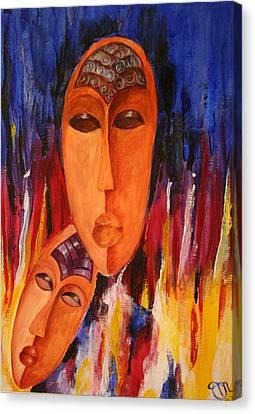 Passion 2007 Canvas Print by Simona  Mereu