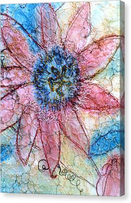Passion Flower Canvas Print by Anita Bell