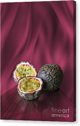 Passion Fruit Canvas Print by Johnny Hildingsson
