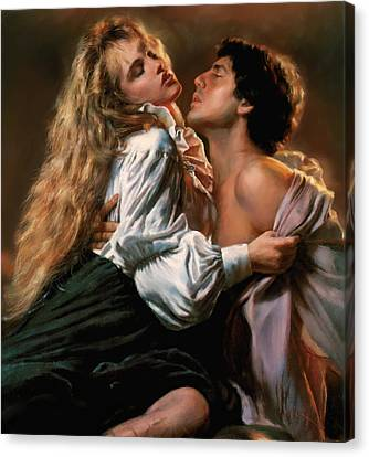 Passion Canvas Print by Robert Smith