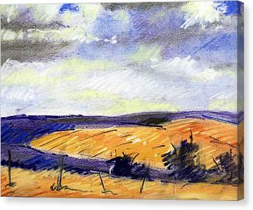 Pastel Landscape Canvas Print by Jon Shepodd