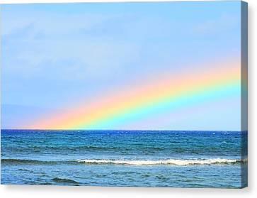 Pastel Rainbow Canvas Print