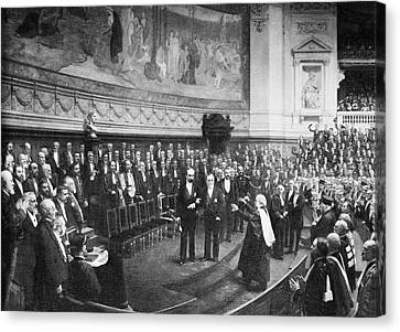Pasteur's Jubilee Celebrations, 1892 Canvas Print by