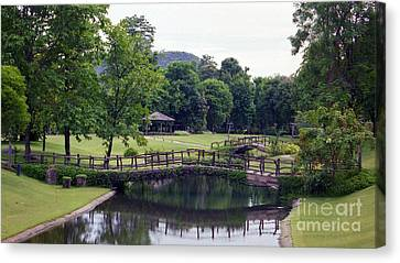Canvas Print featuring the photograph Pastoral Thailand by Craig Wood