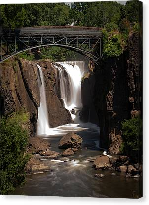 Paterson's Great Falls II Canvas Print by David Hahn