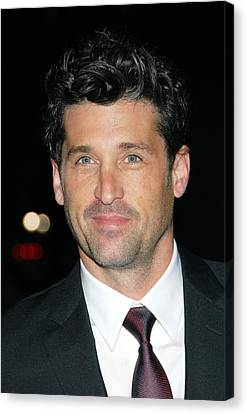 Patrick Dempsey At Arrivals For Avon Canvas Print by Everett