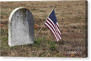 Patriot Canvas Print by Denise Pohl