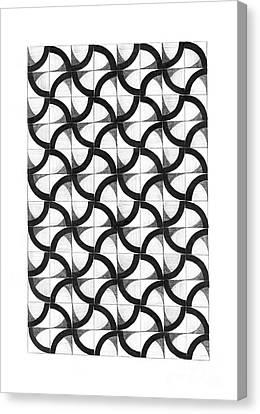 Patterns Canvas Print by Gabriela Insuratelu