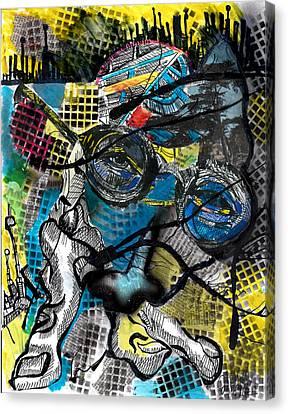Patterns  Canvas Print by Jon Baldwin  Art