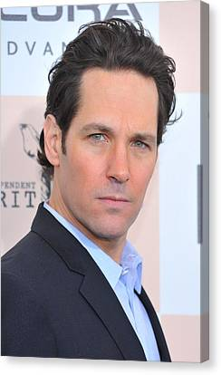 Paul Rudd At Arrivals For 2011 Film Canvas Print