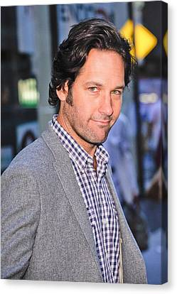 Paul Rudd, Leaves The Today Show Taping Canvas Print by Everett