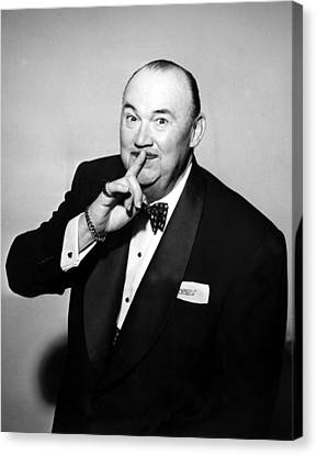 Paul Whiteman, Bandleader, Early 1950s Canvas Print by Everett