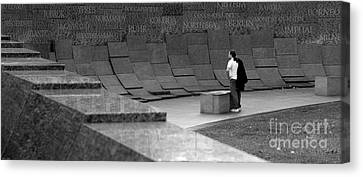 Rememberance Canvas Print - Paused In Thought by Urban Shooters