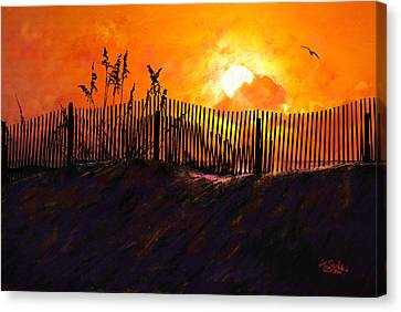Pawleys Island Sunrise Canvas Print