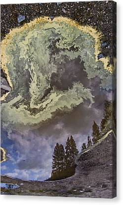 Payette Rain Puddle Canvas Print