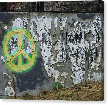 Peace 2012 #1 Canvas Print by Todd Sherlock