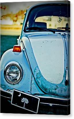 Canvas Print featuring the photograph Peace Bug by Randall  Cogle