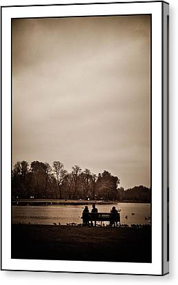 Canvas Print featuring the photograph Peace by Lenny Carter