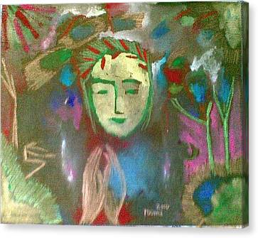 Peace.. Canvas Print by Rooma Mehra