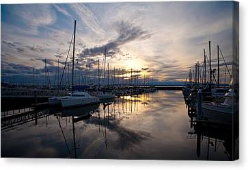 Peaceful Water Canvas Print