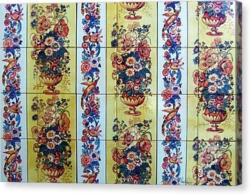 Peacon Canvas Print by Paula Teresa
