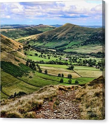 Peak District Canvas Print by Isabella F Abbie Shores