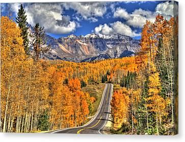 Peak Highway Canvas Print by Scott Mahon