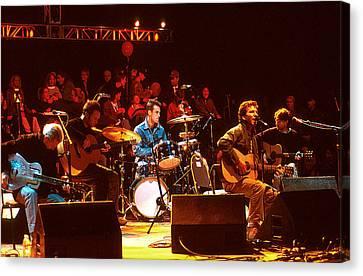 Pearl Jam Bridge Benefit Canvas Print by Stephen Miner