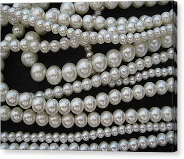 Pearls Canvas Print