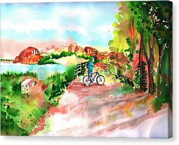 Peavine Trail Prescott Arizona Canvas Print by Sharon Mick