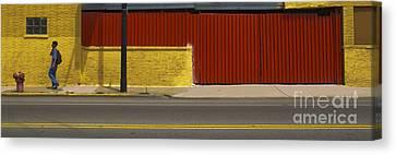 Pedestrian Canvas Print by Jim Wright