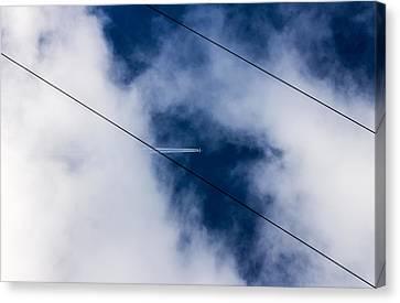 Canvas Print featuring the photograph Peek-a-boo by Matti Ollikainen